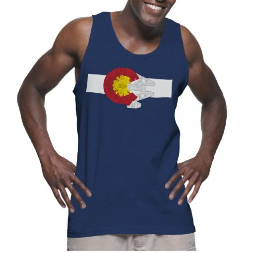 Colorado Millennium Falcon Tank Top