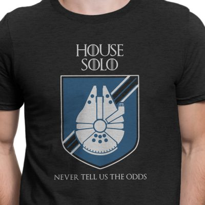 House solo shirt