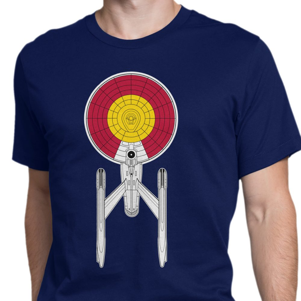 Colorado Starship Enterprise Shirt