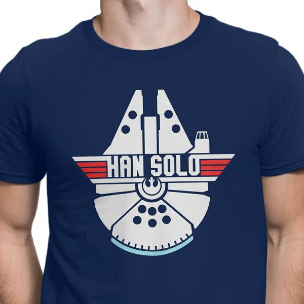 Top Gun Millennium Falcon shirt