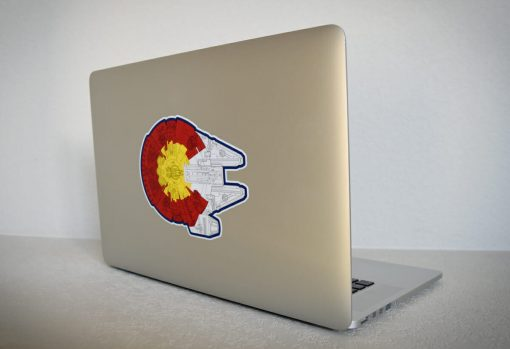 Colorado Star Wars sticker