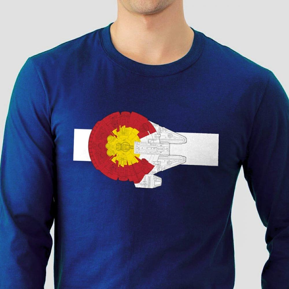 Colorado Millennium Falcon shirt