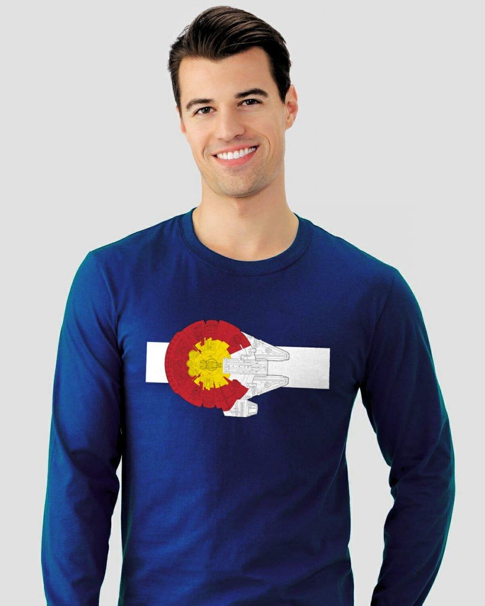 Colorado Millennium Falcon longsleeve