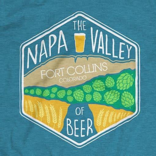 Napa valley of beer shirt