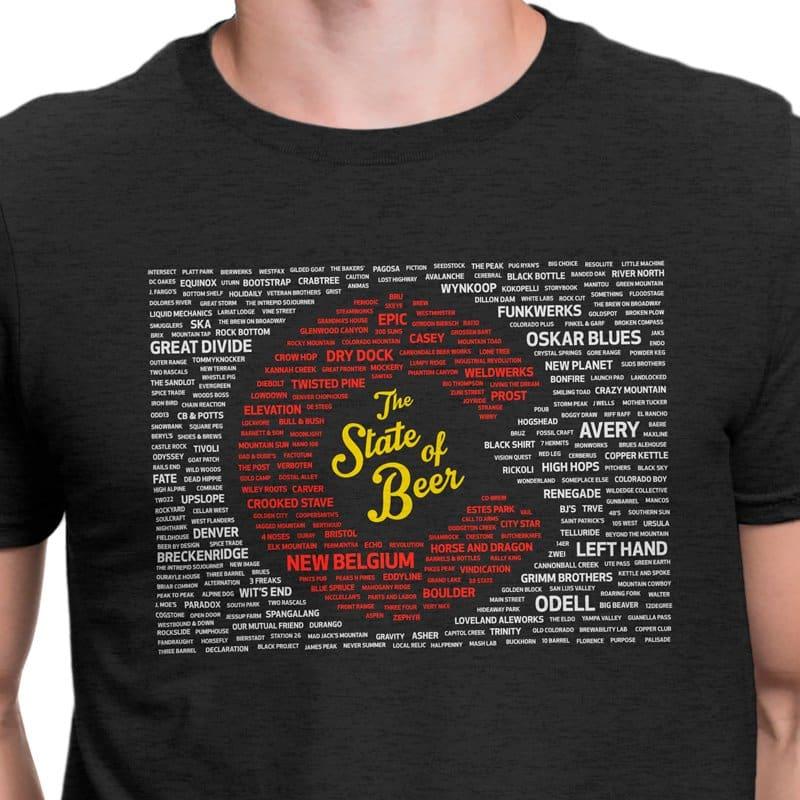 Colorado beer shirt