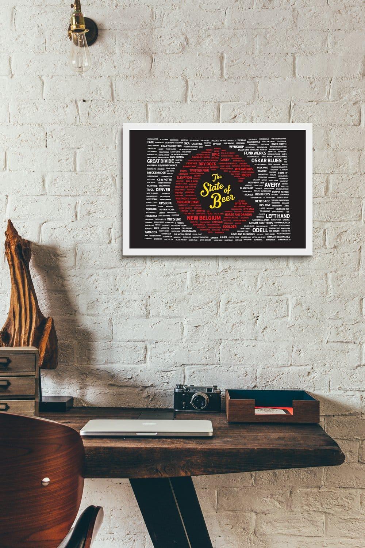 Colorado Breweries Poster