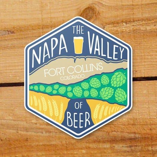 Colorado beer sticker