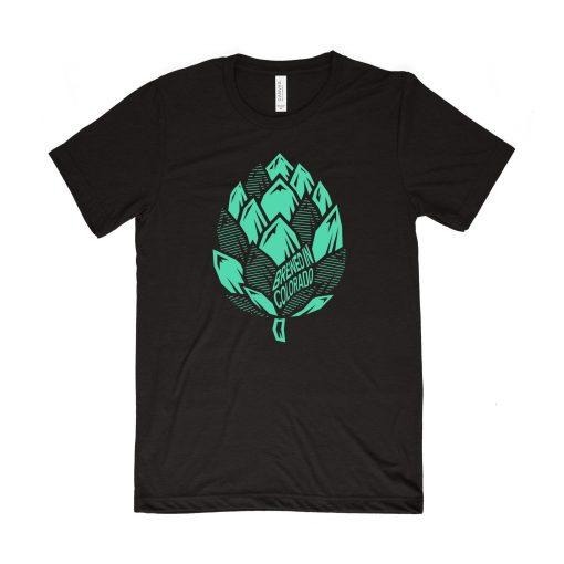 Beer hop mountain shirt