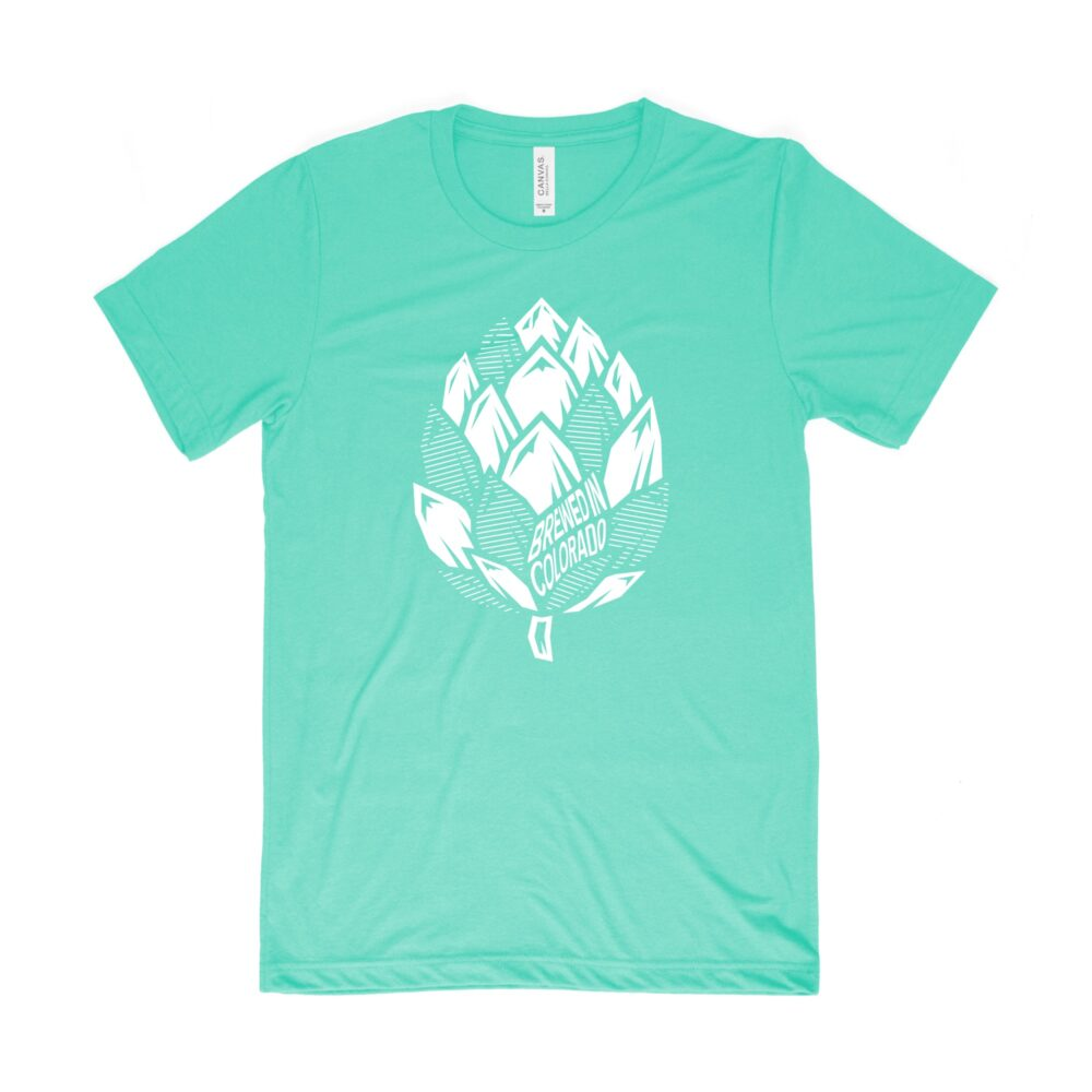 Colorado hop tee