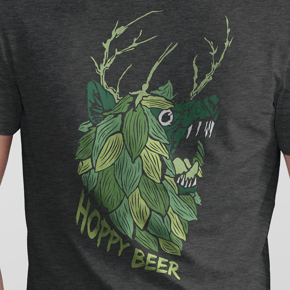 Beer hop t-shirt