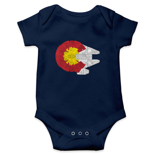 Colorado flag onesie