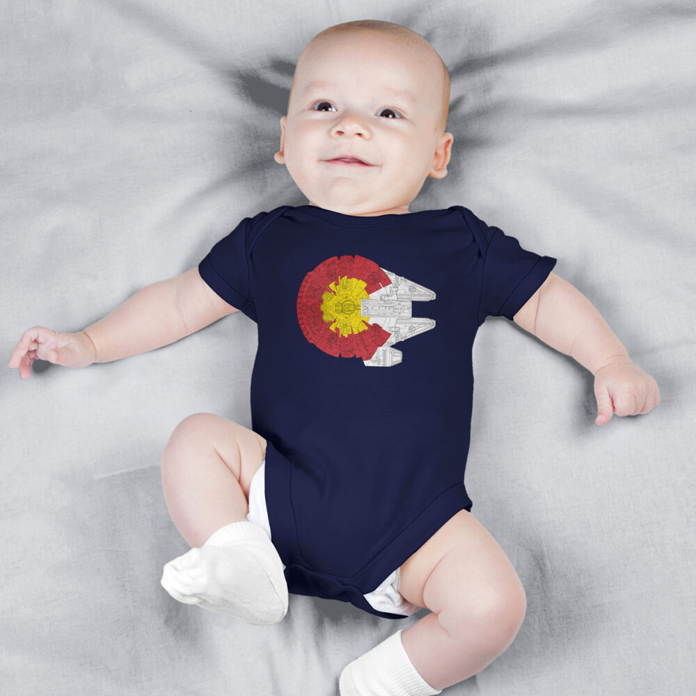 Colorado baby onesie