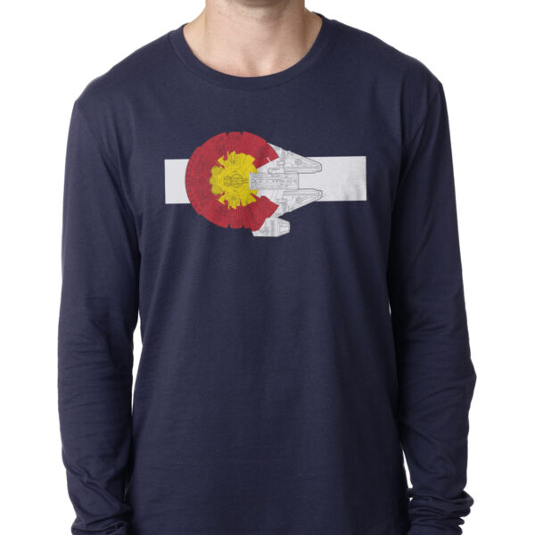 Colorado Millennium Falcon Long Sleeve Tee