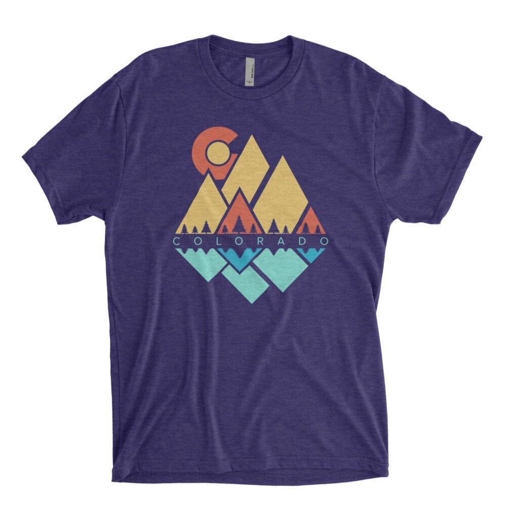 Geometric mountains colorado