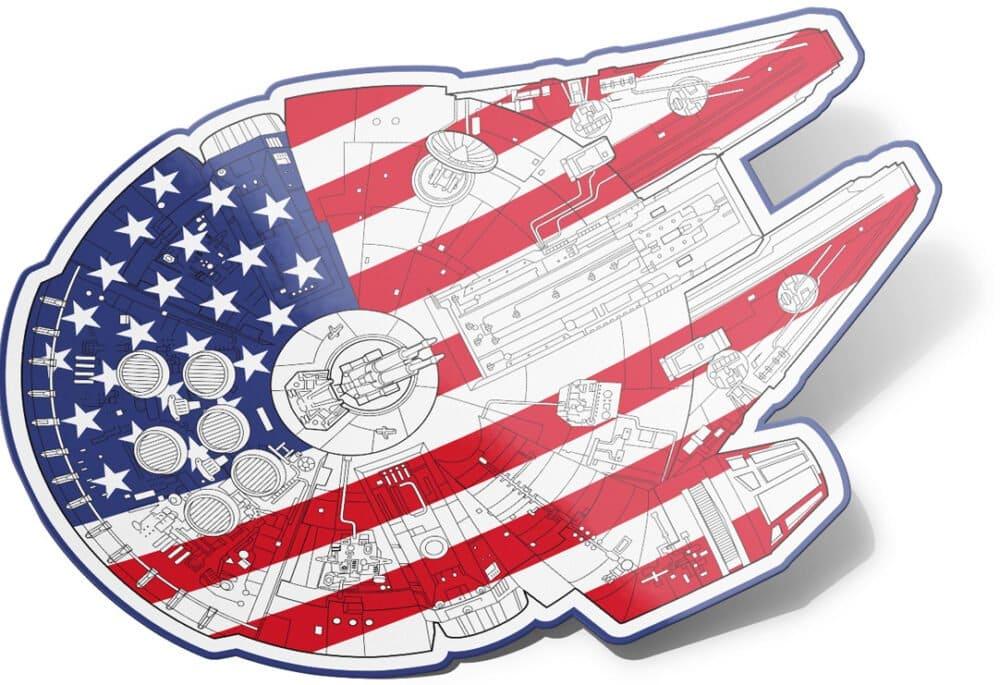 United State of America Millennium Falcon