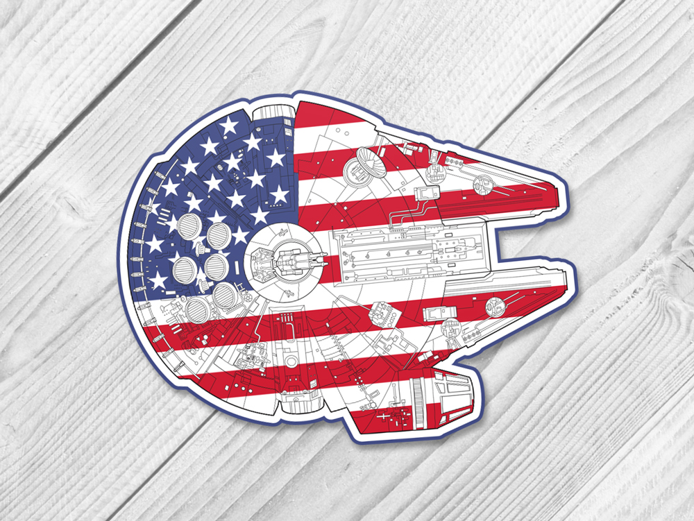 USA millennium falcon