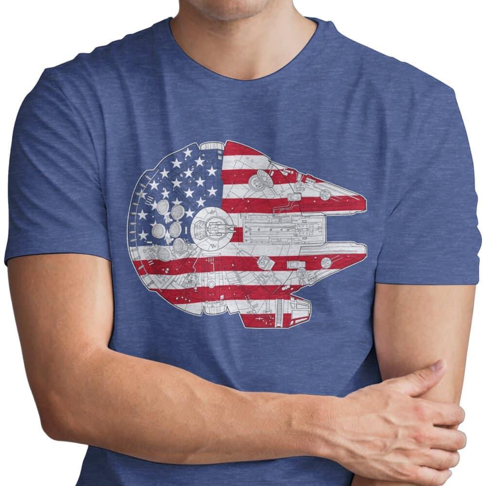 United States Millennium Falcon Tee