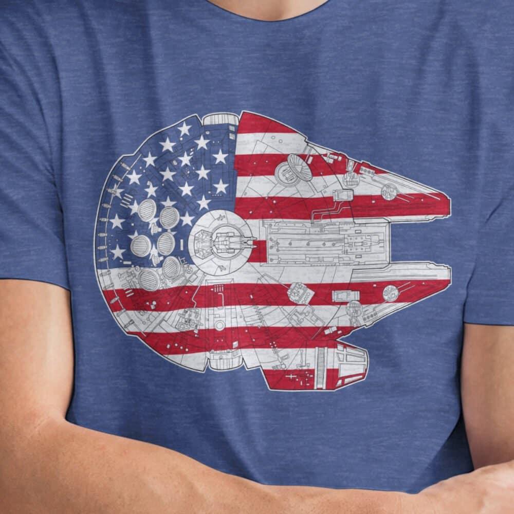 United States Millennium Falcon Shirt